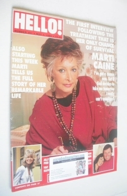 <!--1993-05-01-->Hello! magazine - Marti Caine cover (1 May 1993 - Issue 25