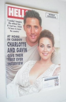 <!--2006-10-10-->Hello! magazine - Charlotte Church and Gavin Henson cover