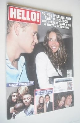 <!--2006-11-07-->Hello! magazine - Prince William and Kate Middleton cover