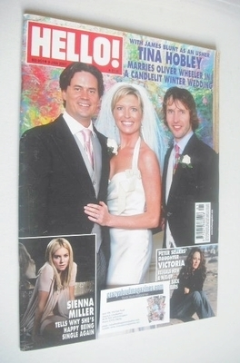 <!--2007-01-09-->Hello! magazine - Tina Hobley wedding cover (9 January 200
