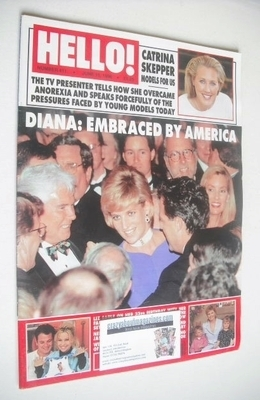 <!--1996-06-15-->Hello! magazine - Princess Diana cover (15 June 1996 - Iss