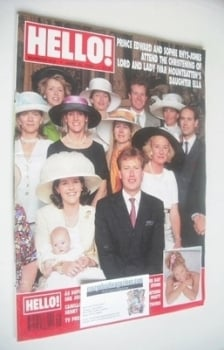 Hello! magazine - Lord and Lady Ivar Mountbatten cover (22 June 1996 - Issue 412)
