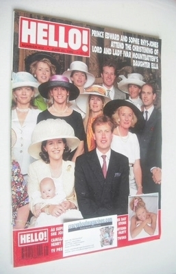 <!--1996-06-22-->Hello! magazine - Lord and Lady Ivar Mountbatten cover (22