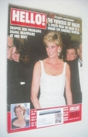 <!--1996-03-16-->Hello! magazine - Princess Diana cover (16 March 1996 - Issue 398)