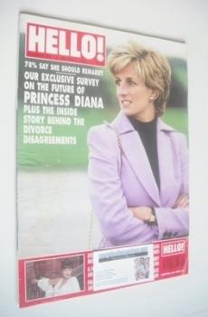 <!--1996-03-09-->Hello! magazine - Princess Diana cover (9 March 1996 - Issue 397)
