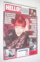 <!--1995-11-11-->Hello! magazine - Frances Fisher cover (11 November 1995 - Issue 381)