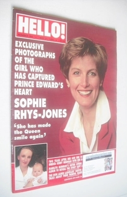 <!--1994-05-21-->Hello! magazine - Sophie Rhys-Jones cover (21 May 1994 - I