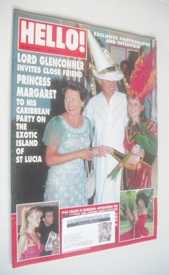 <!--1994-03-19-->Hello! magazine - Lord Glenconner and Princess Margaret co