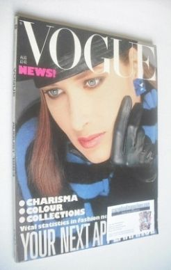 <!--1983-08-->British Vogue magazine - August 1983 (Vintage Issue)