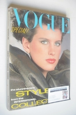 <!--1982-09-->British Vogue magazine - September 1982 (Vintage Issue)
