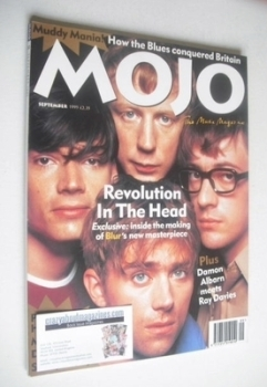 MOJO magazine - Blur cover (September 1995 - Issue 22)