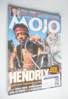 MOJO magazine - Jimi Hendrix cover (November 1999 - Issue 72)