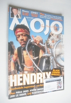 <!--1999-11-->MOJO magazine - Jimi Hendrix cover (November 1999 - Issue 72)