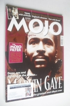 MOJO magazine - Marvin Gaye cover (March 1999 - Issue 64)