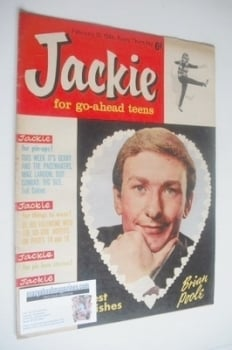 Jackie magazine - 15 February 1964 (Issue 6 - Brian Poole cover)
