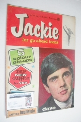 <!--1964-03-14-->Jackie magazine - 14 March 1964 (Issue 10 - Dave Clark)