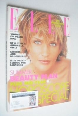 <!--1995-07-->British Elle magazine - July 1995 - Helena Christensen cover