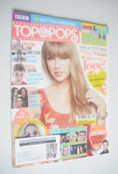 Top Of The Pops magazine - Taylor Swift cover (17 July - 13 August 2013)