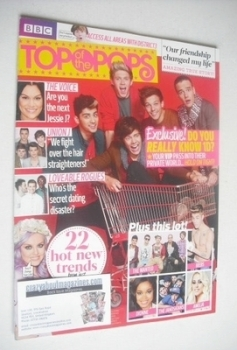 Top Of The Pops magazine - One Direction cover (27 March - 23 April 2013)