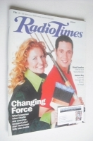 <!--2000-02-12-->Radio Times magazine - Laurence Llewelyn-Bowen and Charlie Dimmock cover (12-18 February 2000)