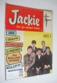 <!--1964-03-21-->Jackie magazine - 21 March 1964 (Issue 11 - The Dave Clark Five)