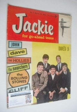 <!--1964-03-21-->Jackie magazine - 21 March 1964 (Issue 11 - The Dave Clark