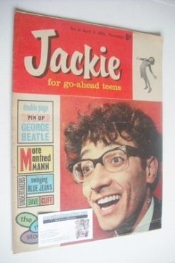 <!--1964-04-11-->Jackie magazine - 11 April 1964 (Issue 14 - Freddie Garrit