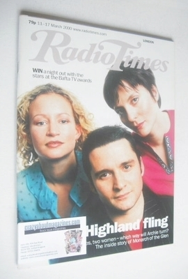<!--2000-03-11-->Radio Times magazine - Alastair Mackenzie, Lorraine Pilkin