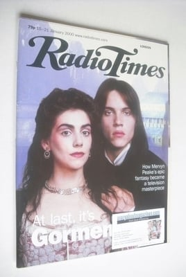 <!--2000-01-15-->Radio Times magazine - Jonathan Rhys Meyers and Neve McInt