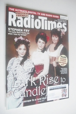 <!--2008-01-12-->Radio Times magazine - Lark Rise to Candleford cover (12-1