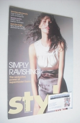 <!--2006-12-17-->Style magazine - Daria Werbowy cover (17 December 2006)