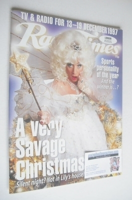 <!--1997-12-13-->Radio Times magazine - Paul O'Grady cover (13-19 December