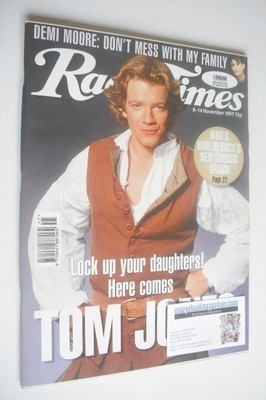 <!--1997-11-15-->Radio Times magazine - Max Beesley cover (8-14 November 19
