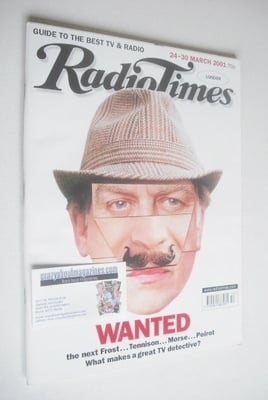 <!--2001-03-24-->Radio Times magazine - Wanted cover (24-30 March 2001)