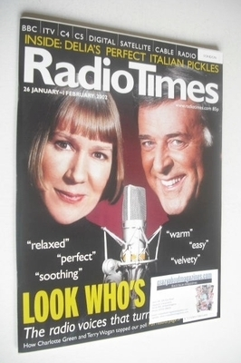 <!--2002-01-26-->Radio Times magazine - Terry Wogan and Charlotte Green cov