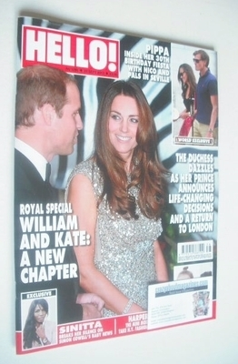 <!--2013-09-23-->Hello! magazine - Kate Middleton and Prince William cover