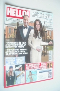 <!--2013-10-14-->Hello! magazine - Kate Middleton and Prince William cover