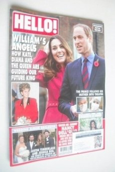 <!--2013-11-18-->Hello! magazine - Kate Middleton and Prince William cover