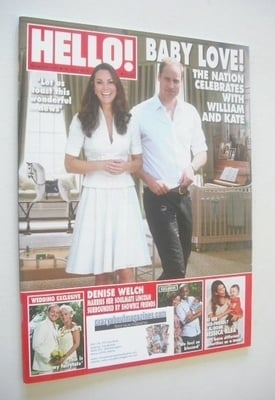 <!--2013-07-29-->Hello! magazine - Prince William and Kate Middleton cover