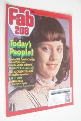 <!--1976-06-19-->Fabulous 208 magazine (19 June 1976)