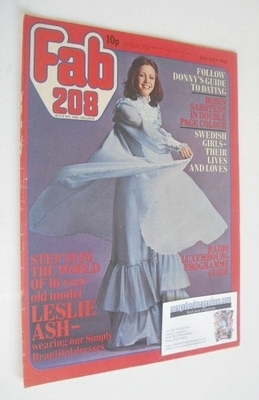 <!--1976-07-24-->Fabulous 208 magazine (24 July 1976 - Leslie Ash cover)