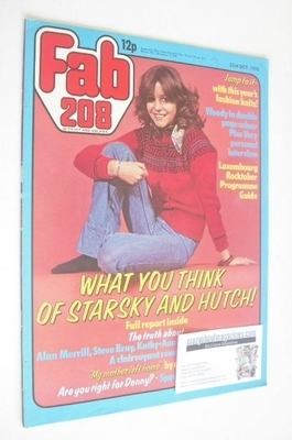 <!--1976-10-23-->Fabulous 208 magazine (23 October 1976 - Leslie Ash cover)