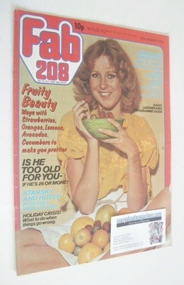 <!--1976-08-21-->Fabulous 208 magazine (21 August 1976)