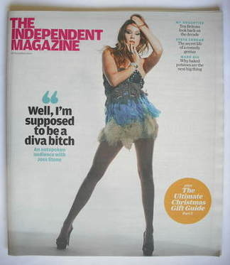The Independent magazine - Joss Stone cover (28 November 2009)