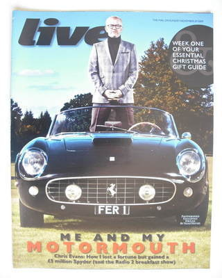 <!--2009-11-29-->Live magazine - Chris Evans cover (29 November 2009)