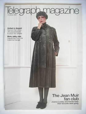 <!--2005-01-22-->Telegraph magazine - Joanna Lumley cover (22 January 2005)