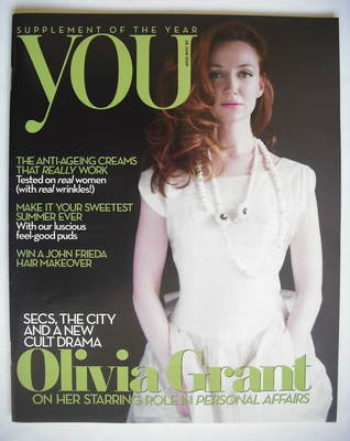 <!--2009-06-28-->You magazine - Olivia Grant cover (28 June 2009)