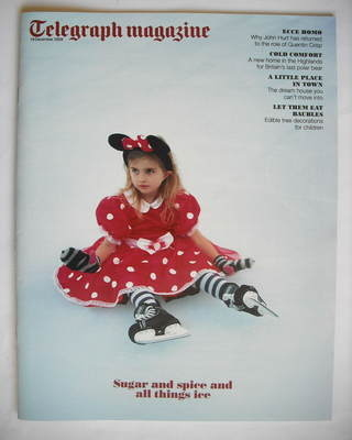 <!--2009-12-19-->Telegraph magazine - Sugar And Spice And All Things Ice co