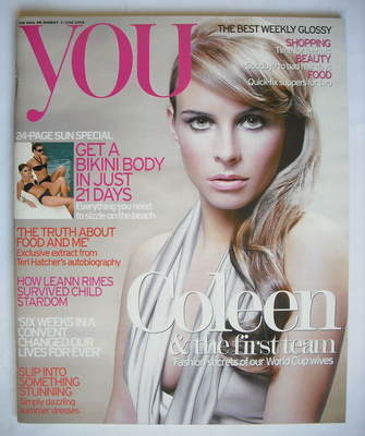 <!--2006-06-04-->You magazine - Coleen McLoughlin cover (4 June 2006)