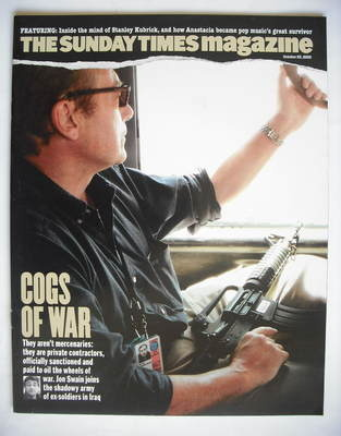<!--2005-10-23-->The Sunday Times magazine - Cogs Of War cover (23 October